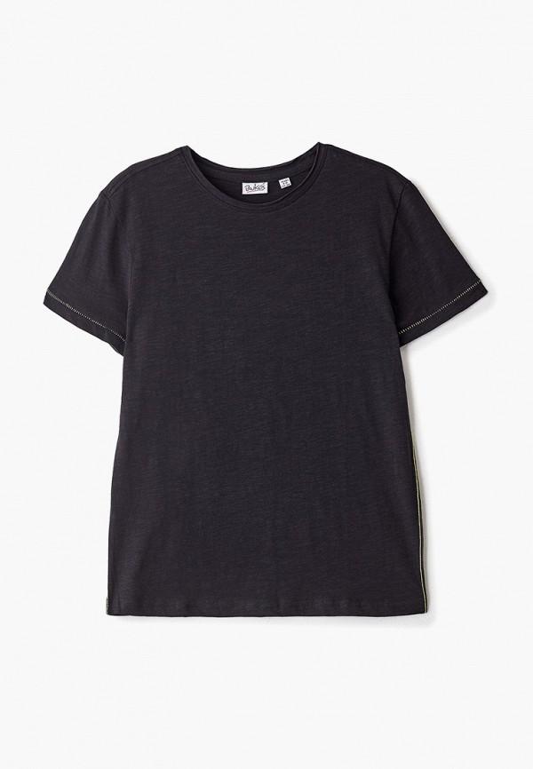 футболка blukids для мальчика, черная