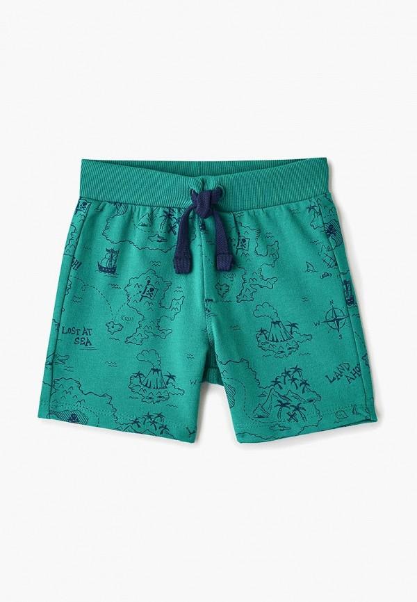 шорты blukids для мальчика, зеленые