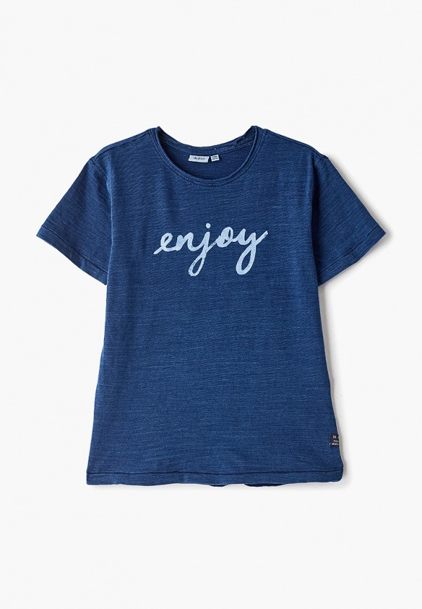 футболка blukids для мальчика, синяя