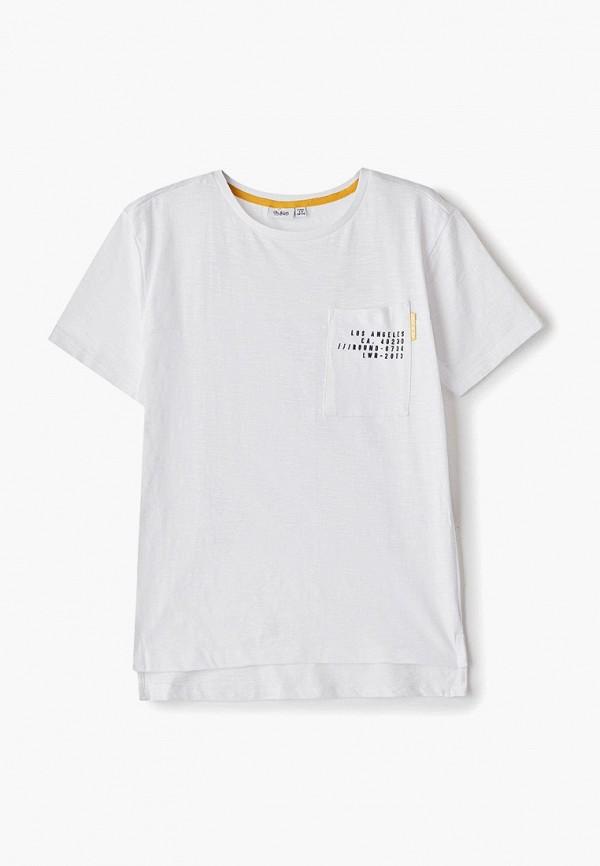 футболка blukids для мальчика, белая