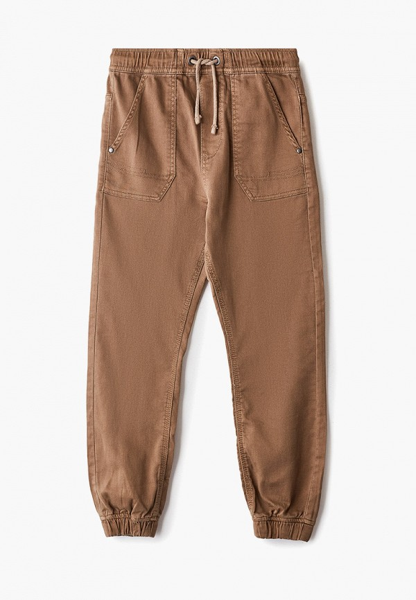 брюки blukids для мальчика, коричневые
