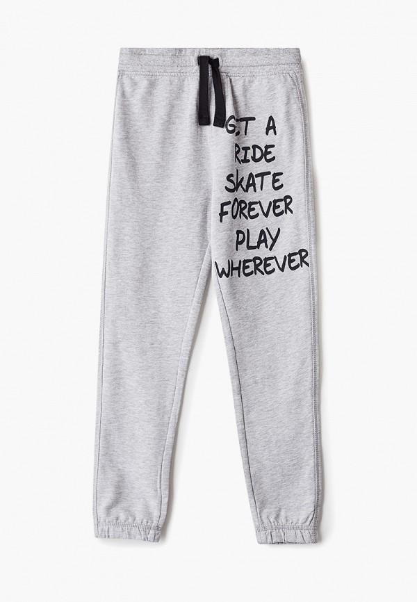 спортивные брюки blukids для мальчика, серые