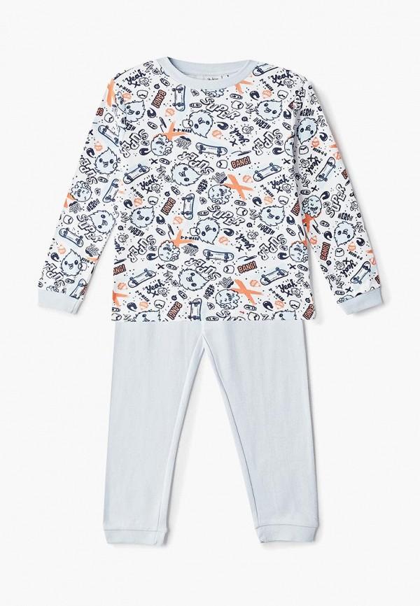 пижама blukids для мальчика, голубая