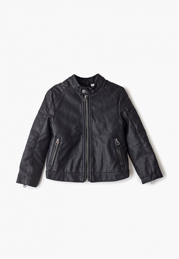 куртка blukids для мальчика, черная