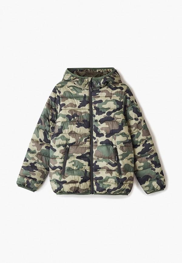 куртка blukids для мальчика, хаки