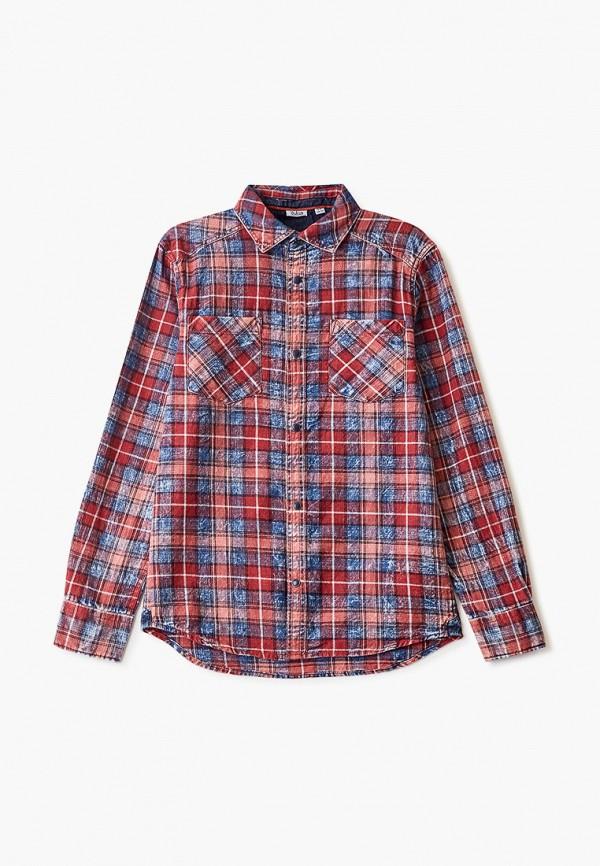рубашка blukids для мальчика, красная