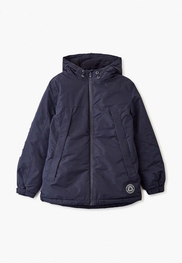 утепленные куртка blukids для мальчика, синяя