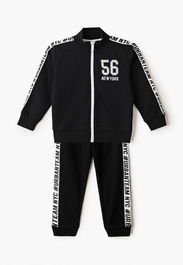 спортивный костюм blukids для мальчика, черный