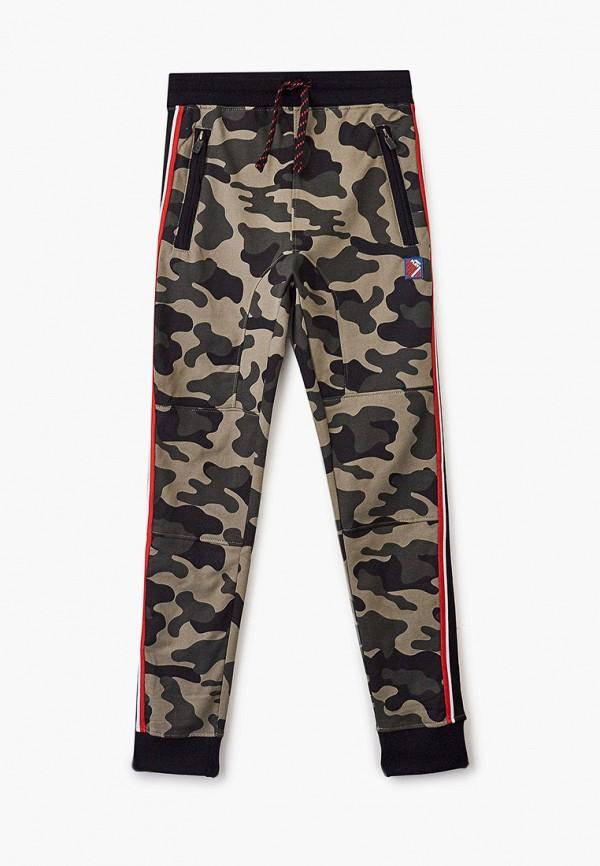 спортивные брюки blukids для мальчика, хаки