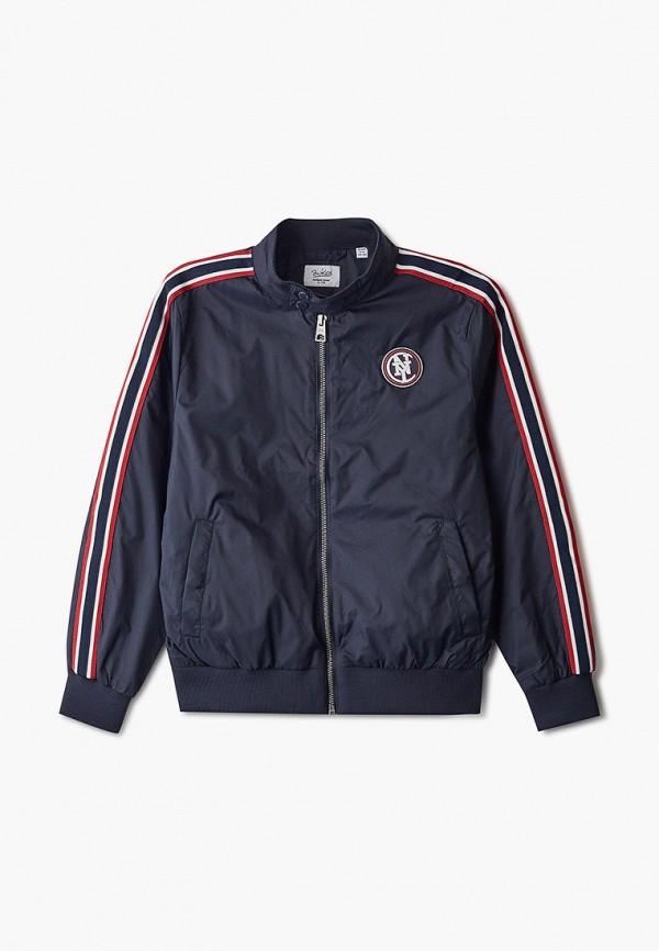 легкие куртка blukids для мальчика, синяя