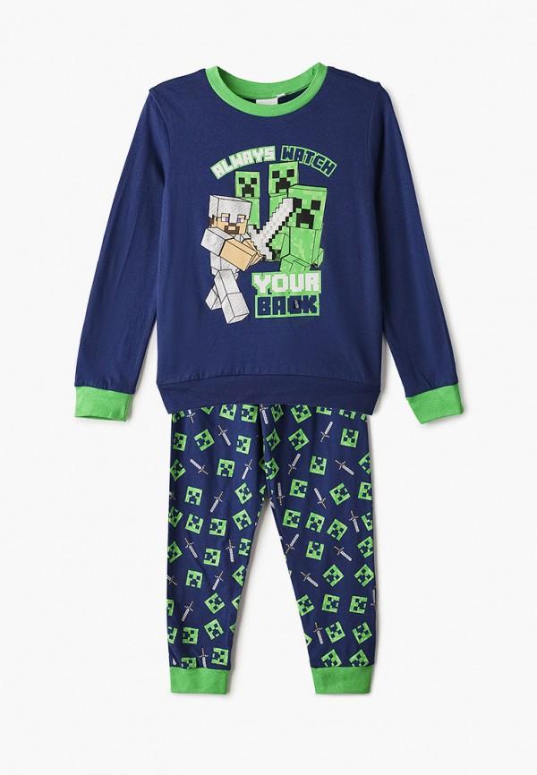 пижама blukids для мальчика, синяя