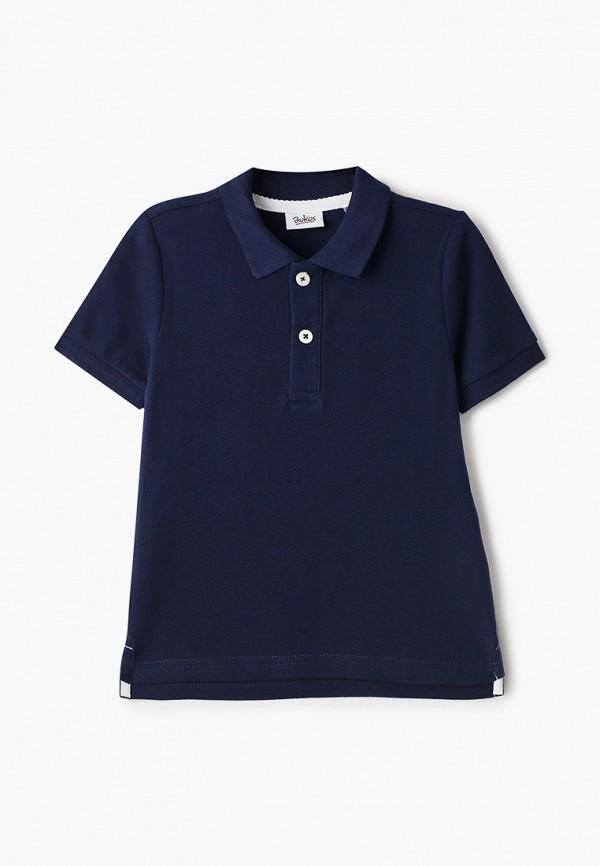 поло blukids для мальчика, синее