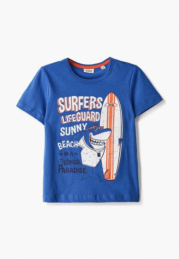 футболка с коротким рукавом blukids для мальчика, синяя