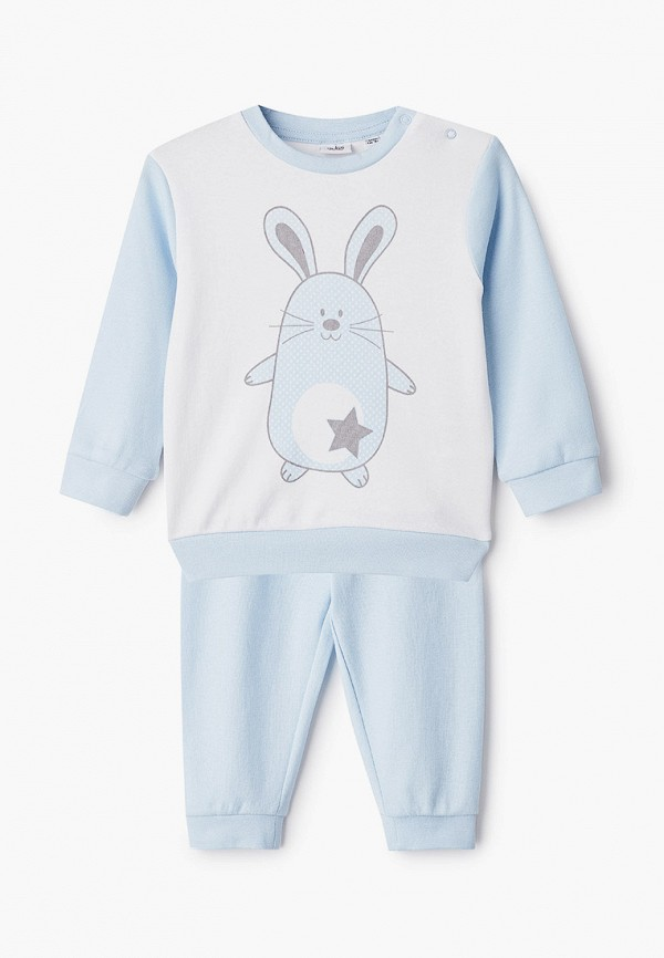 пижама blukids для мальчика, бирюзовая