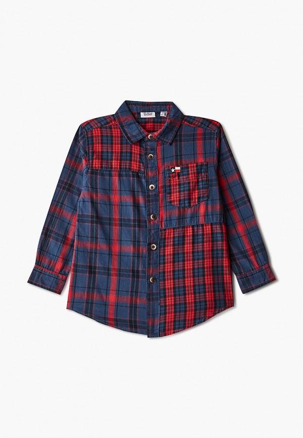 рубашка blukids для мальчика, синяя