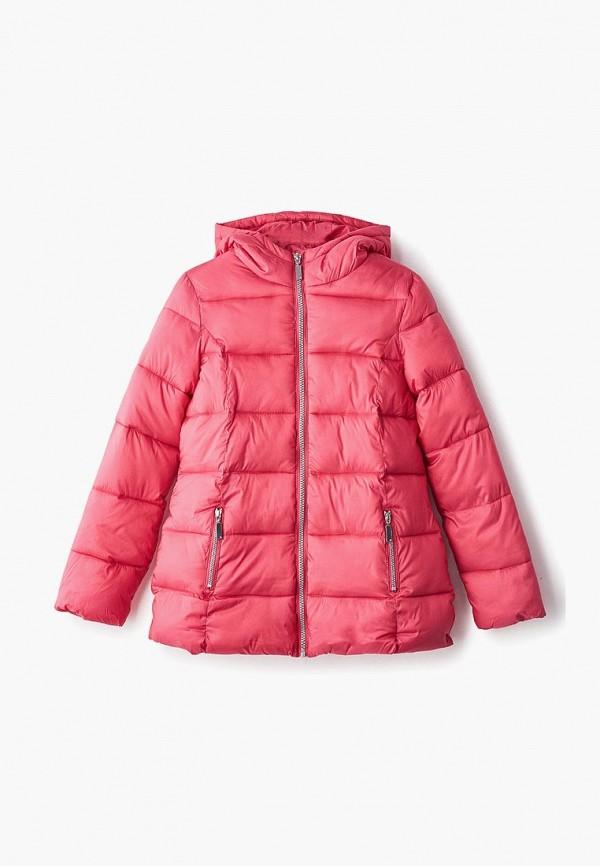 куртка blukids для девочки, розовая