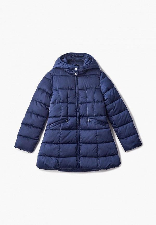 куртка blukids для девочки, синяя