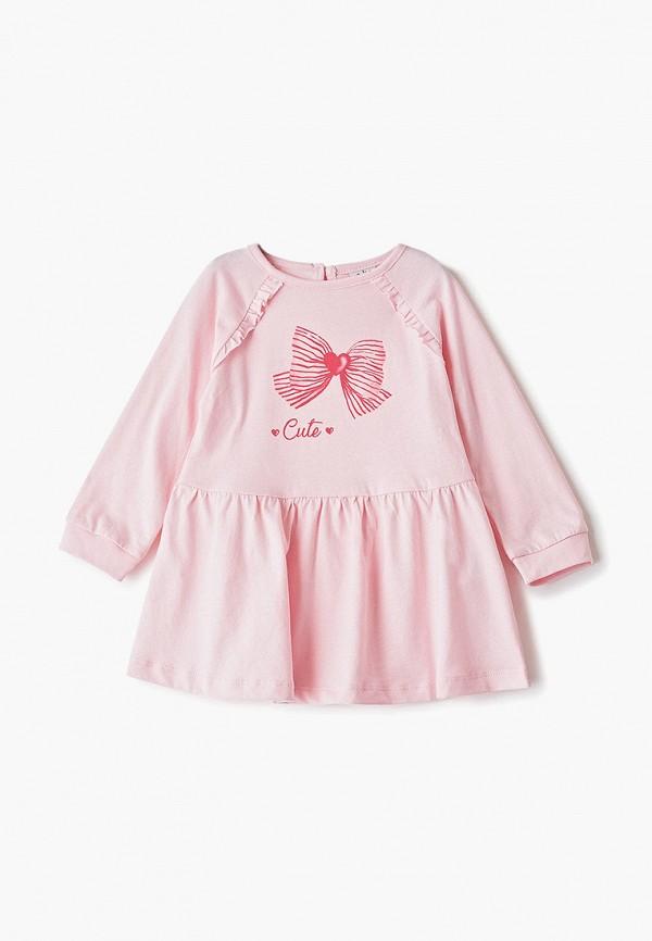 платье blukids для девочки, розовое
