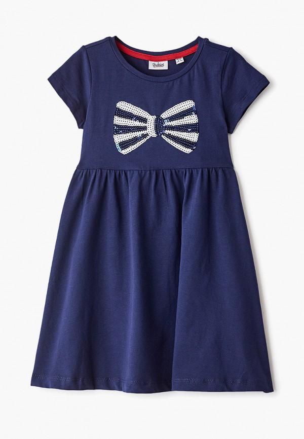 повседневные платье blukids для девочки, синее