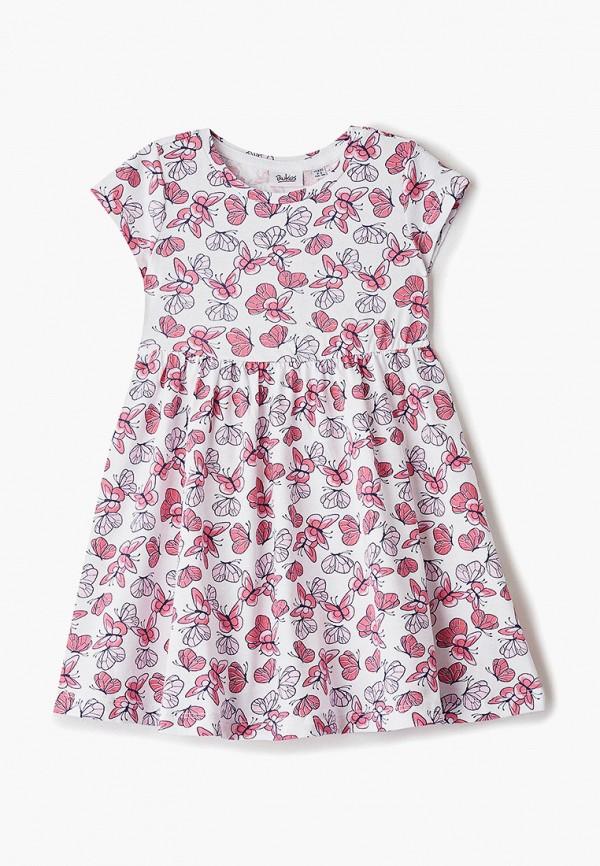 повседневные платье blukids для девочки, белое