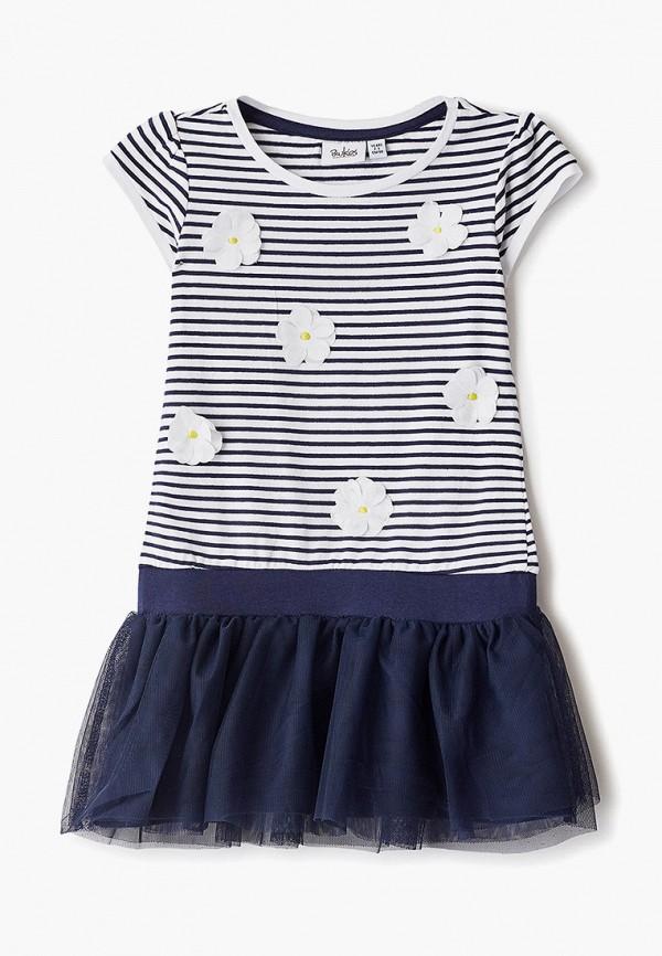 платье blukids для девочки, синее