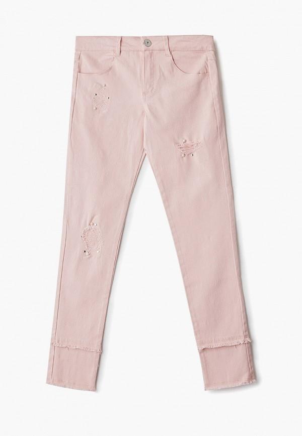 брюки blukids для девочки, розовые
