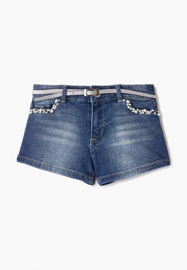 шорты blukids для девочки, синие