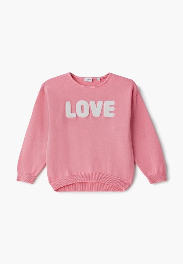 джемпер blukids для девочки, розовый