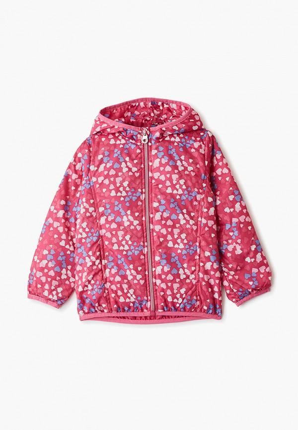 ветровка blukids для девочки, розовая
