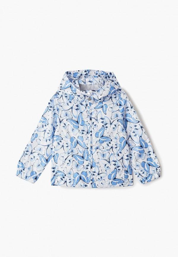 ветровка blukids для девочки, голубая