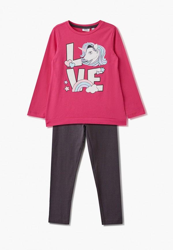 костюм blukids для девочки, разноцветный