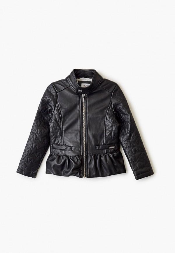 куртка blukids для девочки, черная