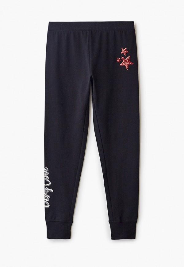спортивные брюки blukids для девочки, черные