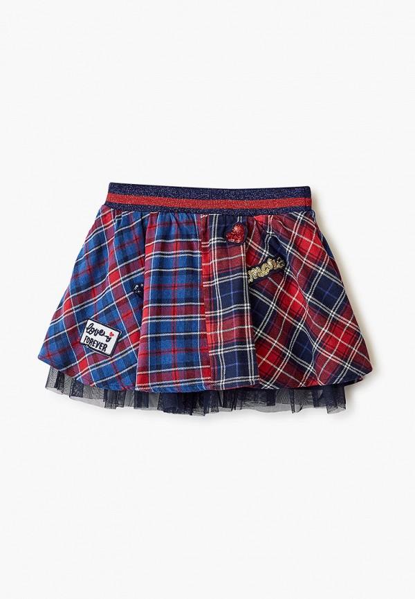 юбка blukids для девочки, разноцветная