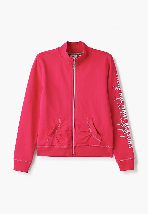 олимпийка blukids для девочки, розовая