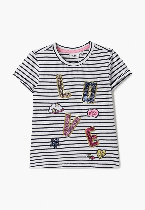 футболка с коротким рукавом blukids для девочки, синяя