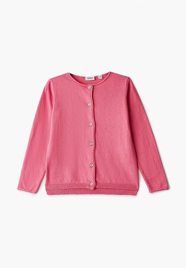 кардиган blukids для девочки, розовый