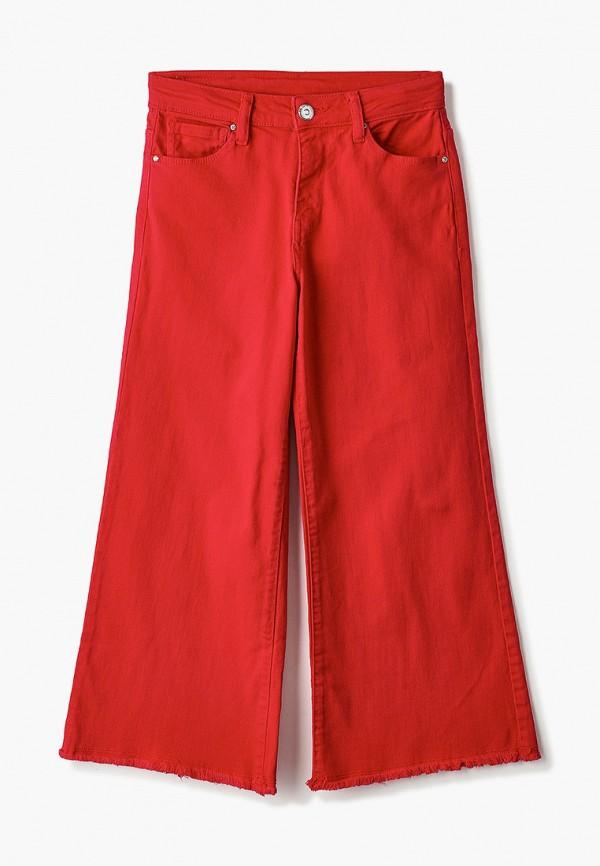 брюки blukids для девочки, красные