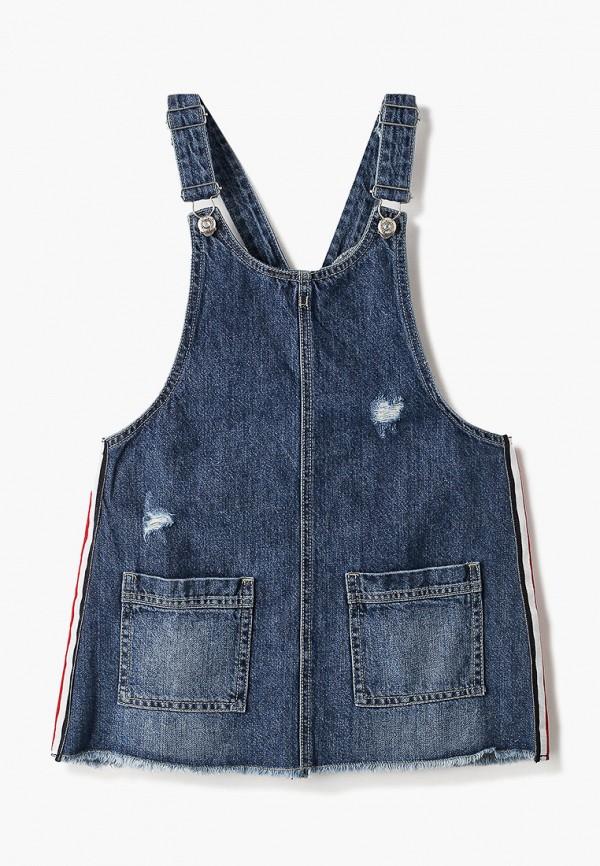 джинсовые платье blukids для девочки, голубое