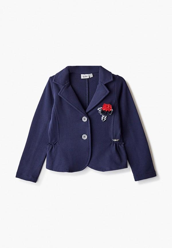 пиджак blukids для девочки, синий