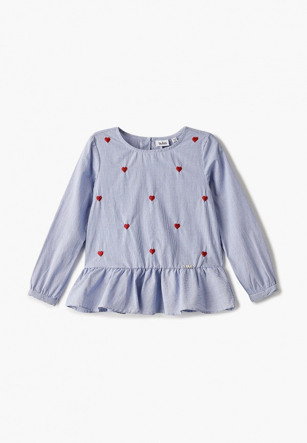 блузка blukids для девочки, синяя