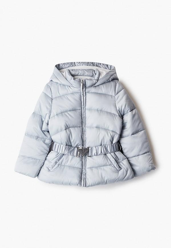 куртка blukids для девочки, серая