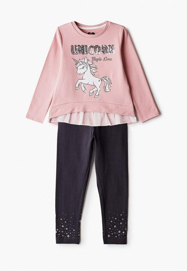 костюм blukids для девочки, розовый