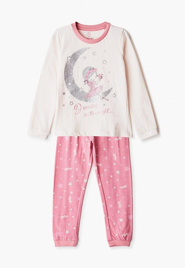 пижама blukids для девочки, разноцветная