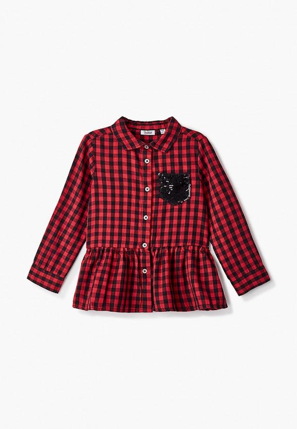 блузка blukids для девочки, красная