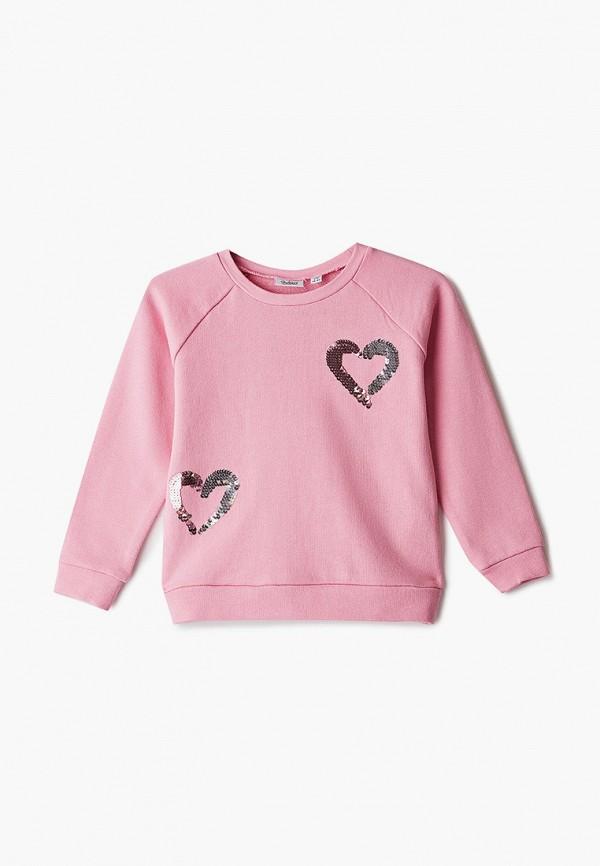 свитшот blukids для девочки, розовый