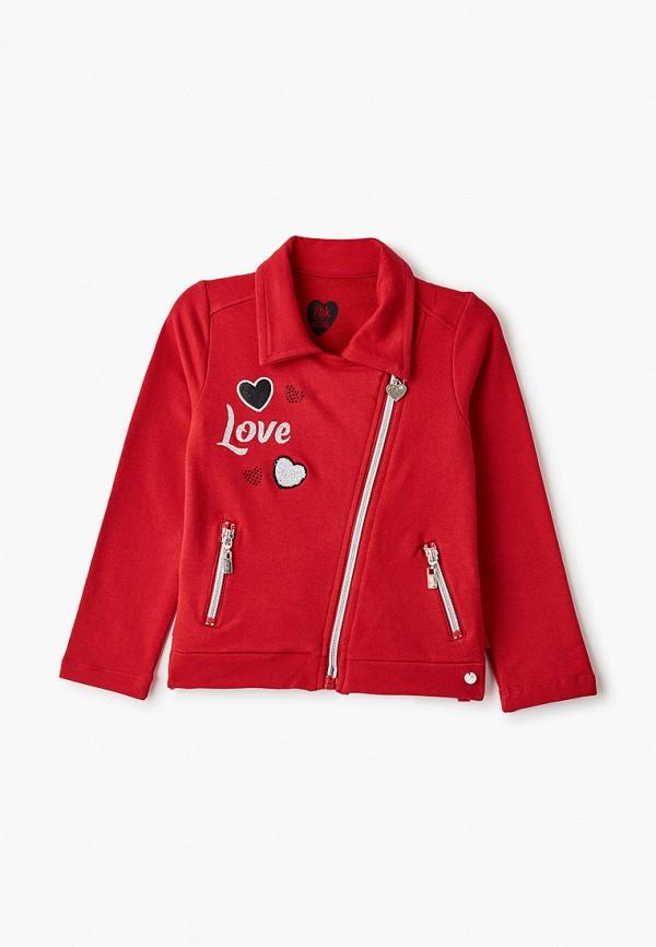 олимпийка blukids для девочки, красная
