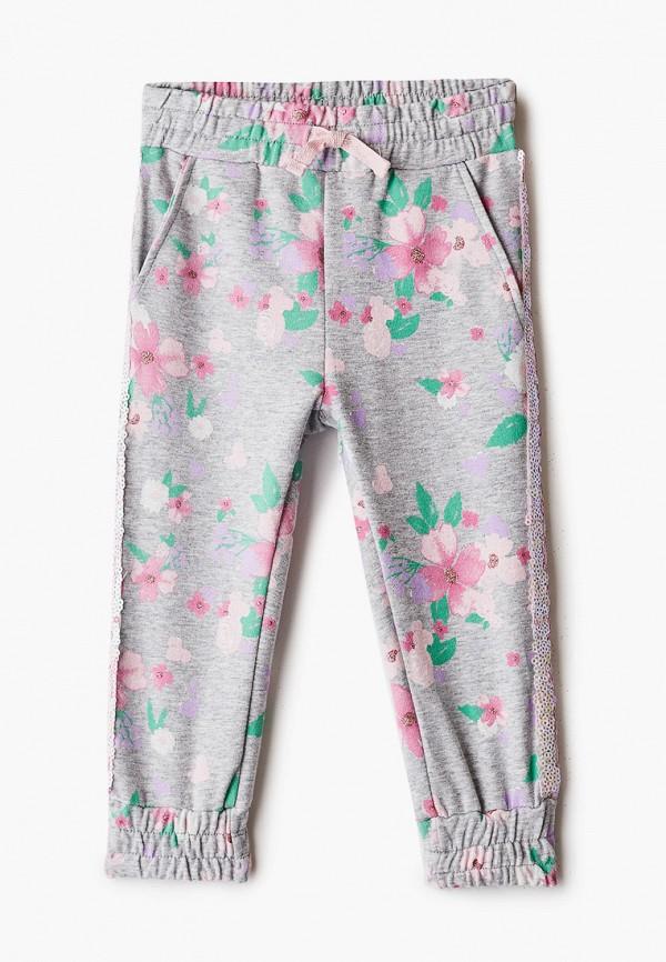 спортивные брюки blukids для девочки, серые