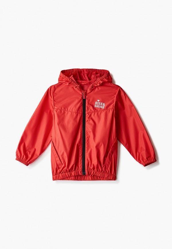 куртка blukids для девочки, красная