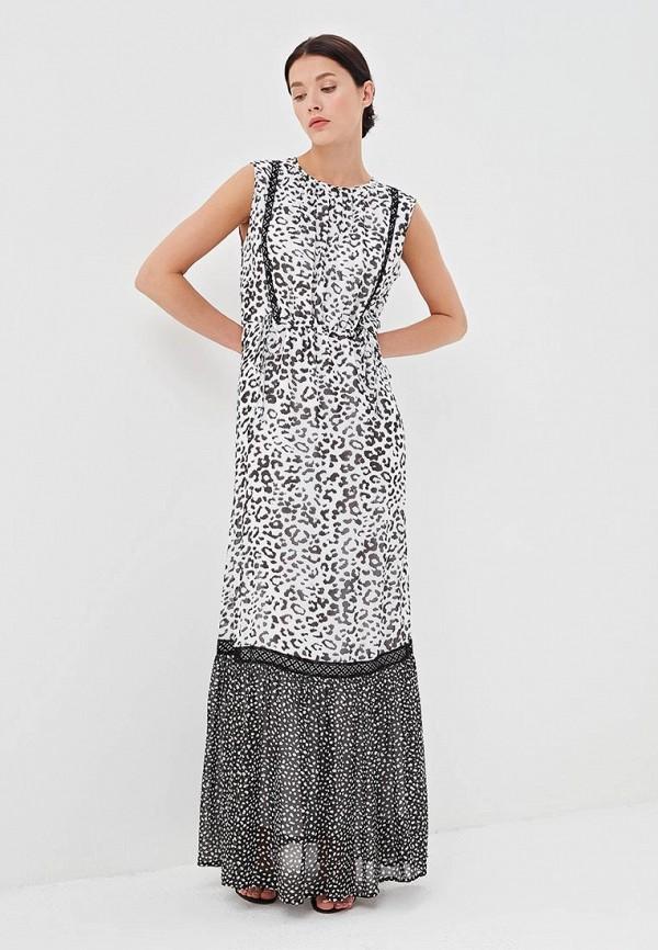 женское повседневные платье blugirl folies, белое